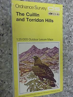 Ordnance Survey Outdoor Leisure Map The Cuillin and Torridon Hills.