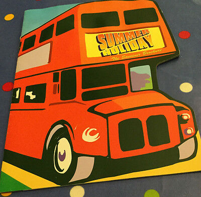 """Summer Holiday"" - souvenir brochure for 1990s tour of the famous musical"