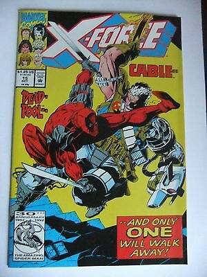 Details about  X-Force #15 Oct 1992, Marvel Cable vs Deadpool NM