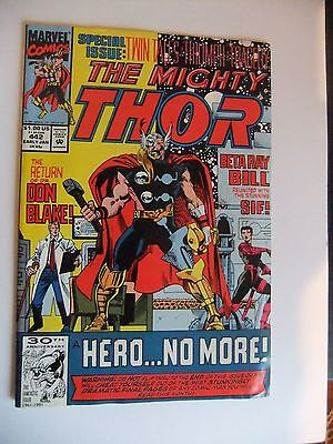 The Mighty Thor #442 - 1992 MARVEL COMICS Excellent NM