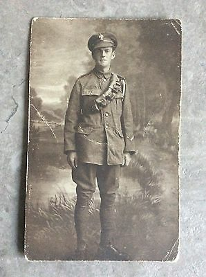 WW1 Postcard Private Royal Fusiliers