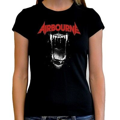 Camiseta chica mujer AIRBOURNE t shirt women girl varias tallas different sizes