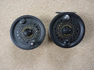 BFR Magnum 200D Salmon Fly Reel and spare spool