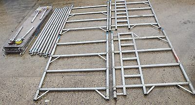 Scaffold TOWER, EUROTOWER ALLOY SCAFFOLD ACCESS PLATFORM, 4m, more available