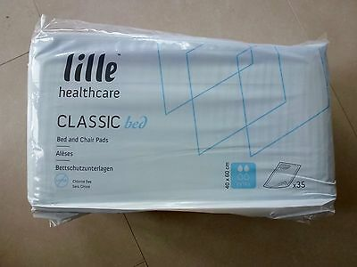 11 packs LILLE HEALTHCARE CLASSIC Bed and Chair Pads – Extra – 40 x 60cm