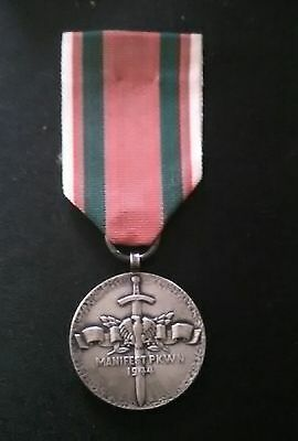 POLISH ,Medal for the defence of poland ,,,1939 /45