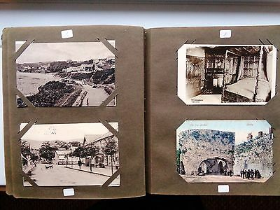Album Of 130 Old Postcards   Posted & Un- Posted   Lot 1