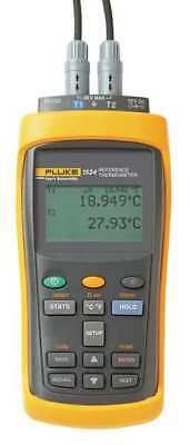 Thermocouple Thermometer,2 Input FLUKE 1524-156