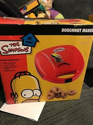 Used Simpsons 6 Hole Electric Doughnut Maker Donut Snack Machine