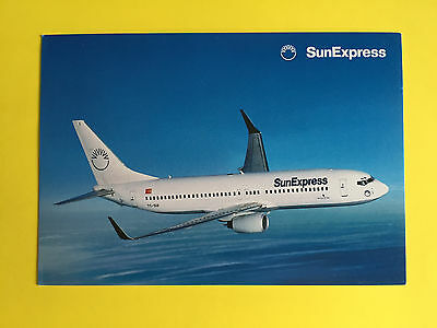 AK SunExpress B 737 Airline Issued
