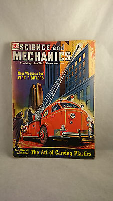 1949 Science and Mechanics Weapons for Fire Fighting Magazine