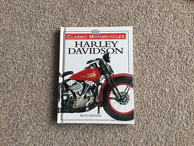 Harley Davidson Book 'Classic Motorcycles' Hugo Wilson