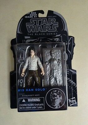 Hasbro Star Wars The Black Series Han Solo #19 in Carbonite Action Figure