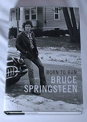 Bruce Springsteen Signed Born To Run Book Hardcover 1ST Edition