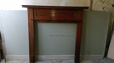 Reclaimed Victorian solid Oak fire surround