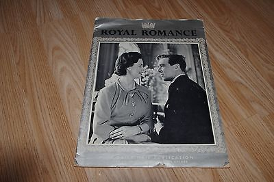 PRINCESS MARGARET & ANTHONY ARMSTRONG-JONES Royal Romance Engagement 1960