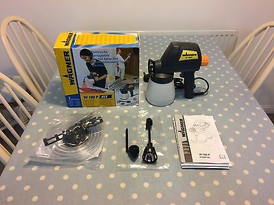 Wagner W-180P Electric Spray Gun And Accessories.