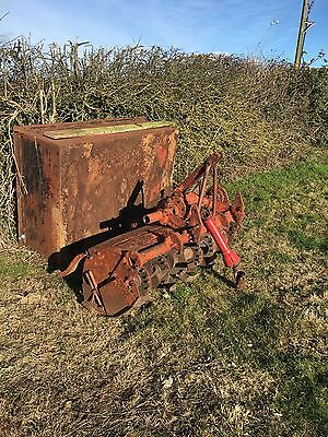 5 ft Howard tractor Cultivator tractor power rotovator