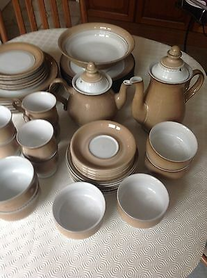Denby Seville Vintage Complete Dinner And Tea Set For 6 People In Fab Condition