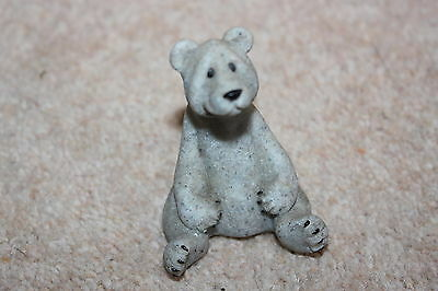 Quarry Critters Boo Polar Bear Ornament Figurine - Excellent Condition