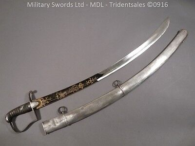 British 1796 Blue and Gilt Cavalry Officer's Sword