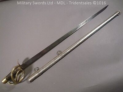 FRENCH HEAVY CAVALRY ANIX SABRE WITH 1st PATT SCABBARD