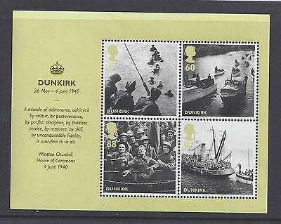 2010 GB  Britain alone Dunkirk Mini Sheet MS3086. MNH. Excellent (1864)