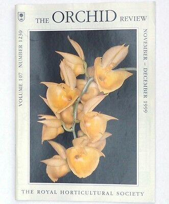 The Orchid Review, Vol 107, No 1230, Nov/Dec 1999 - Orchids Without Leaves