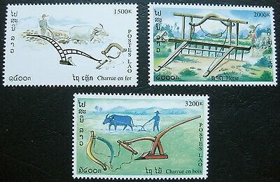 Laos 1999: Traditional Farming Implements Stamp Set