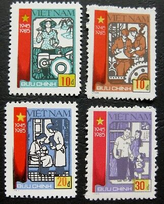 Vietnam 1985: 40th Anniversary of Independence set - RARE item