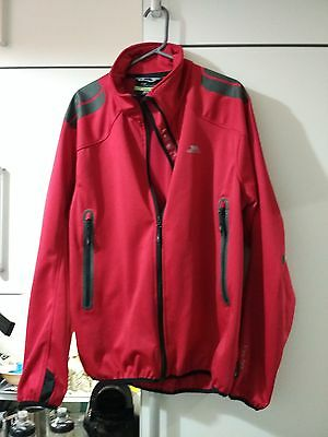 Trepass EXPANSION MENS SOFTSHELL JACKET - red , x-large,