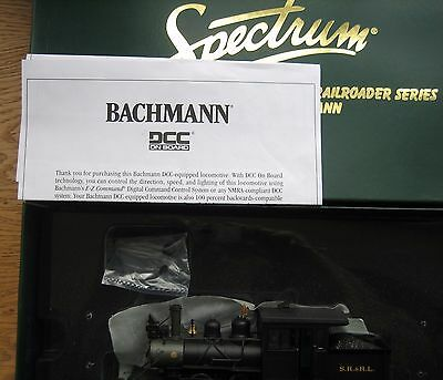 On30 O gauge Bachmann Spectrum Forney 2-4-4 loco DCC item no 25477
