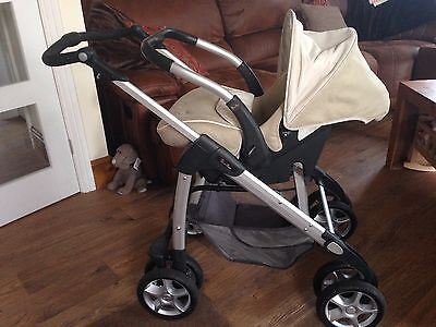 Silvercross Carseat With Chassis