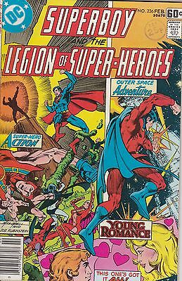 SUPERBOY AND THE LEGION OF SUPER-HEROES (1st Series) #236 DC Comics 1978 GIANT