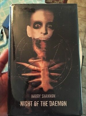 Night of the Daemon by Harry Shannon Signed Limited Delirium Hardcover