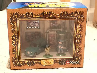 Limited Edition Corgi Wallace and Gromit Curse of the Were-Rabbit Car Toy Set