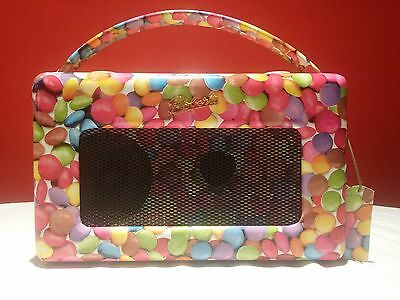 Roberts Revival RD-50 DAB FM Portable Digital Radio with Pause plus in Smarties