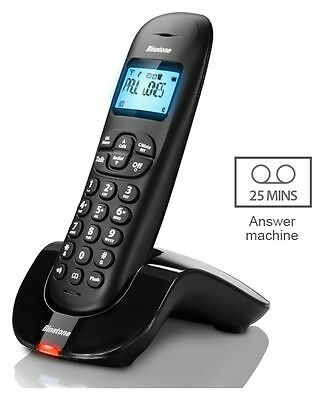 Binatone Vesta 1215 Cordless Telephone with Answer Machine - Single + 90 Days WA