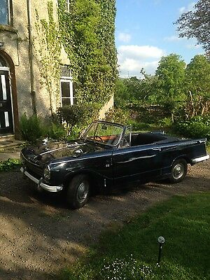 Triumph HERALD 13/60 Convertible. With overdrive and hardtop.