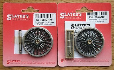 O gauge Slaters driving wheels 1 set each of 7884GB1 and 7884GB2
