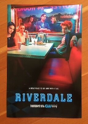 """2017 Riverdale The CW Series Official Promotional Poster 12""""x18"""""""