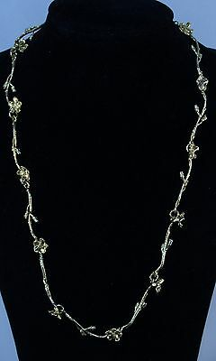 Flora Danica Denmark Sterling Silver Necklace