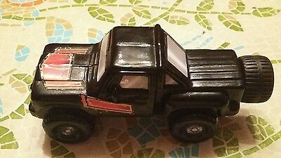Collectable Avon Perfume Bottle. Vintage. Black Car Truck Jeep. Wild Country.