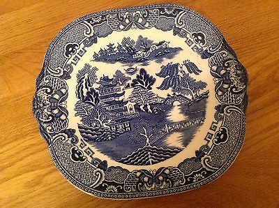 Vintage Blue And White Willow Pattern ( Collection Only )