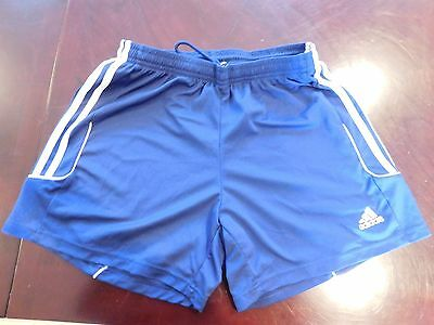 ADIDAS Navy Blue Boys Shorts Medium 10-12
