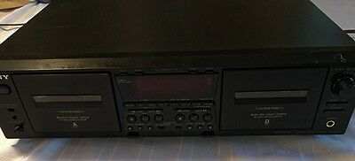Sony TC-WE675 Stereo Cassette Deck - works great! - NR