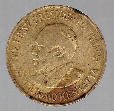 1969 Kenya Of Africa 10 Cent Coin !!!