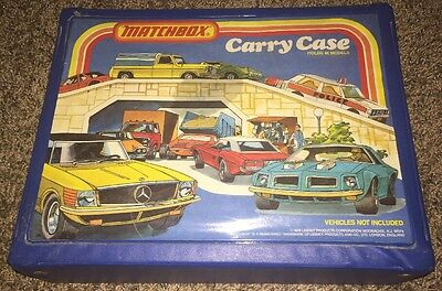 Matchbox Carry Case HOLDS 48 MODELS 1978 Lesney Excellent Condition