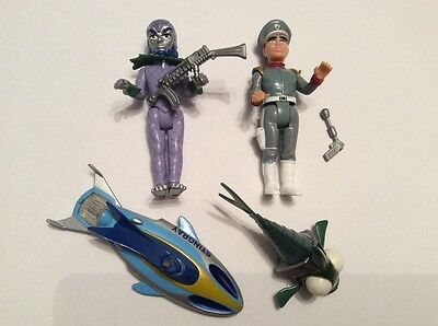 Matchbox Stingray collection from 1992 - includes Troy Tempest, Titan