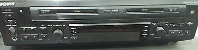 Very Rare Sony Twin Minidisk player, MDS-W1, Excellent condition